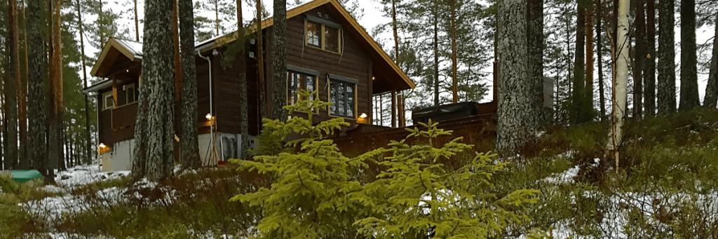 Moderne hytte Telemark